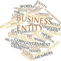 Business entity sign and related terms
